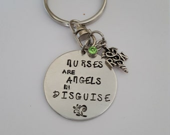 Nurses are Angels in disguise // Gift for a Nurse // Great friend gift//