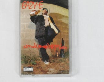 Eazy E It's On (Dr. Dre) 187um Killa Rare Cassette Tape 1993