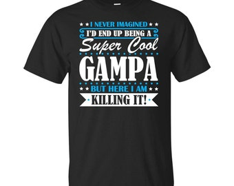 Gampa, Gampa Gifts, Gampa Shirt, Super Cool Gampa, Gifts For Gampa, Gampa Tshirt
