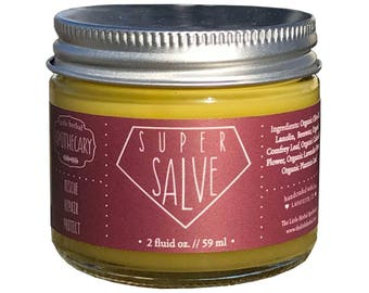Super Salve, Organic, Herbal Infused, Skin Repair, Dry Skin