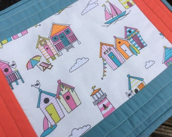 Tablemats, placemats, quilted tablemats, outdoor tablemats, summer tablemats,  quilted placemats, outdoor placemats, summer placemats.