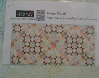 Tonga Parfait Quilt Kit with Backing and Pattern