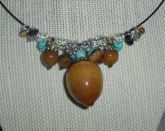 Acorn Necklace #5