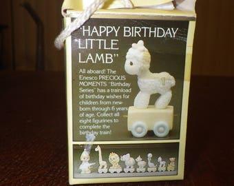 "Precious Moments - Birthday Train ""Happy Birthday Little Lamb"" Baby by Precious Moments - Sam Butcher"