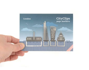 London City Architectural Bookmarks, River Thames architecture, Tate, St Pauls' Cathedral