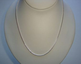 925 Sterling Silver 2mm Snake Chain