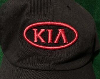 Vintage 90's Kia Quality Control KMMG Adjustable Velcro Cap