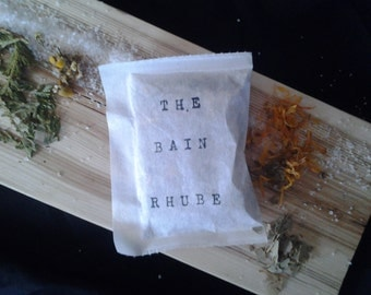 Rhube bath tea