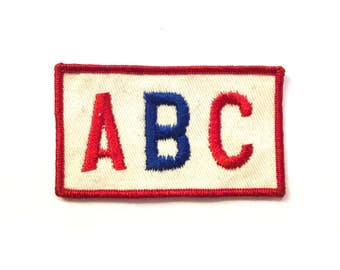 ABC Vintage Patch