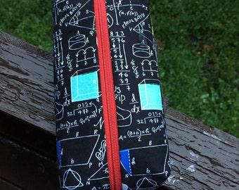 Math fun pencil pouch