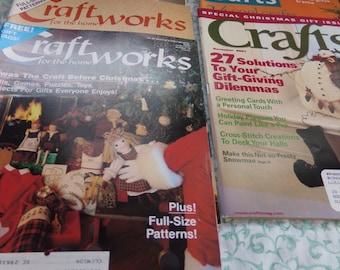 Craft Magazines set of 5 88/02