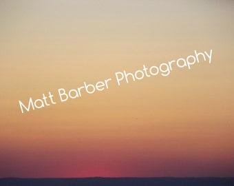 New York Sunset Photo Print