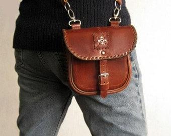 Leather Bag Men's, Leather Purse, Shoulder Bag Leather, Leather Gift Bag, Leather handbag