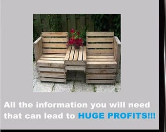 Secrets to making money with pallets, Training course, Instructional, DVD