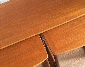 Parker Knoll Coffee Table, Nest Of Tables, Mid-Century Tables, G-Plan Tables, Teak Coffee Tables.