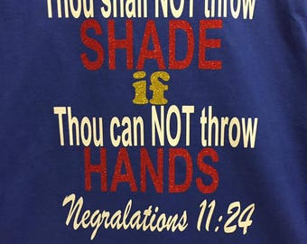 Thou Shall Not... Women's Fitted Shirt