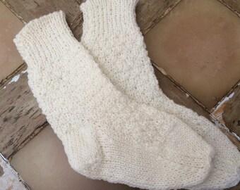 Babies Knitted Socks