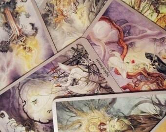 Tarot Reading - Three Cards - Past, Present, Future Spread