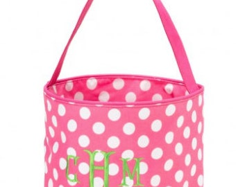 Monogrammed Easter and Toy Basket