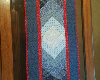 Table Runner, Quilted Table Runner, Table Mat, Table Linen