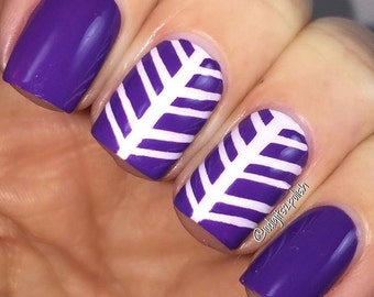 Arrow Tail Nail Art Vinyl Stencils
