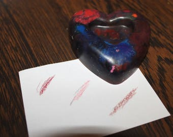 Heart crayon- Proceeds to charity- recycle