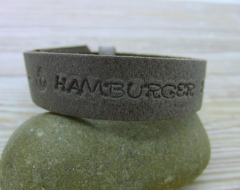 "Woman bracelet ""Hamburger Deern"""