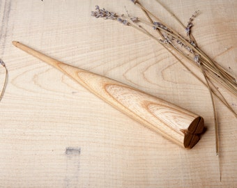 Dealgan / Fearsaid | Drop Spindle | Hand Turned | Ash