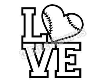 1673+ Baseball Love Svg Free Popular SVG File
