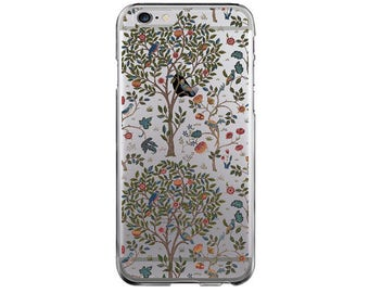 Clear iPhone SE case iPhone 7 apple iPhone 6 Plus iPhone 5s cover transparent iPhone 6 floral iPhone 4 case Samsung S7 Galaxy S4 S5 S6 case