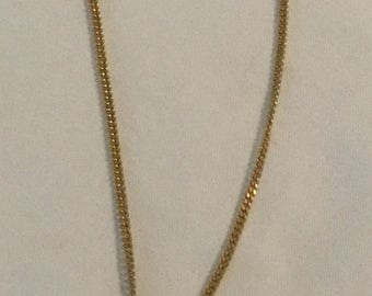 """Vintage Honeybee with Faux Pearls Lariat Necklace 18"""""""