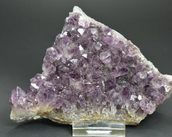 Deep Royal Violet Thin Amethyst Cluster! 299 grams! From Brazil!