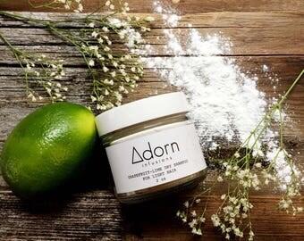 Dry Shampoo for Light Hair Citrus Hair Powder, Organic, Vegan, Natural Hair powder