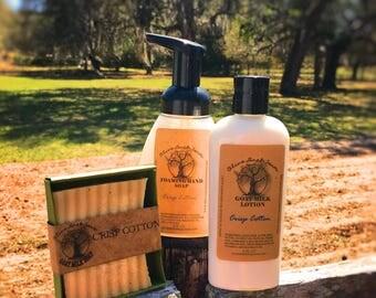 Gift Set - Trio Soap Lotion & Liquid Soap
