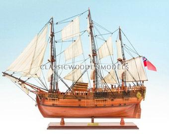 HMS Endeavour Model Ship