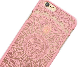 Henna Mandala iphone case, Iphone 6 case, mandala case, henna phone case, iphone, lace case,