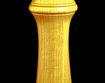 "10"" Canary Wood Pepper Mill"