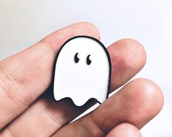 Tiny Ghost - Enamel Pin - Lapel Pin