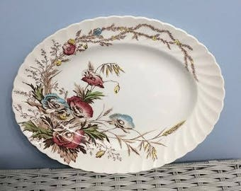 Royal Staffordshire Clarice Cliff Harvest Platter