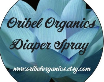 Diaper Spray/ Baby/ Rash/Healing/Sensitive Skin/ Calming/ Bum
