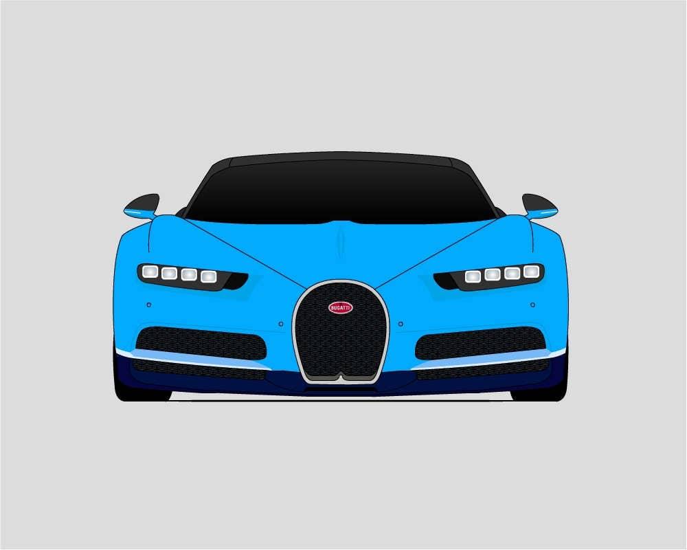 bugatti chiron veyron bugatti poster super auto. Black Bedroom Furniture Sets. Home Design Ideas