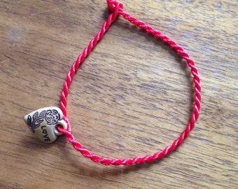 Feng Shui love luck charm bracelet