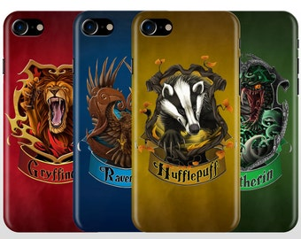 Harry Potter Hogwarts House iPhone 7 case, iPhone 7 plus case, iPhone 6 case , iPhone 5 SE Gryffindor Ravenclaw Hufflepuff Slytherin