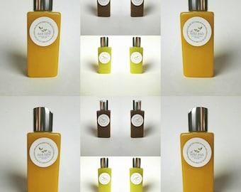 BODY LOTION/OIL - Mango Seaweed, Hemp Seaweed, Chocolate Seaweed.Natural Ingredients. No water or preservatives .