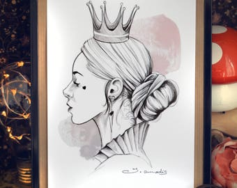 "Card ""Queen of hearts"""