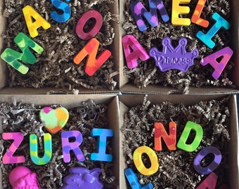 Personalized Name Crayon Gift Sets