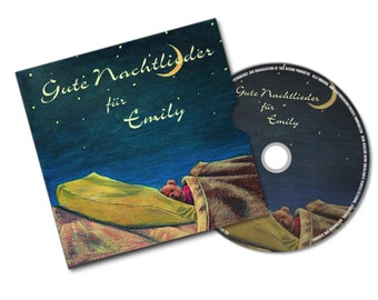 Lullabies CD good night songs - personalized