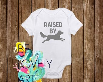 Raised By Wolves Baby Bodysuit