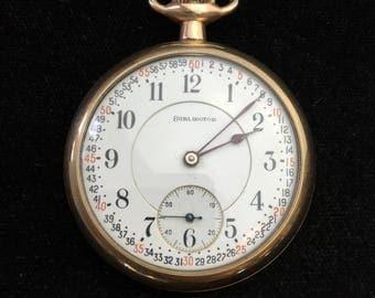 Vintage 21 Jewel Burlington Pocket Watch