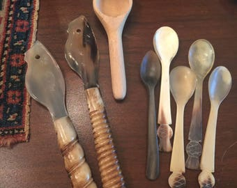Nice Assortment Serving Spoons and Knives